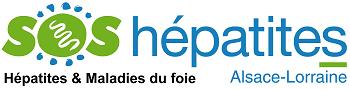 SOS hépatites Alsace Lorraine Logo